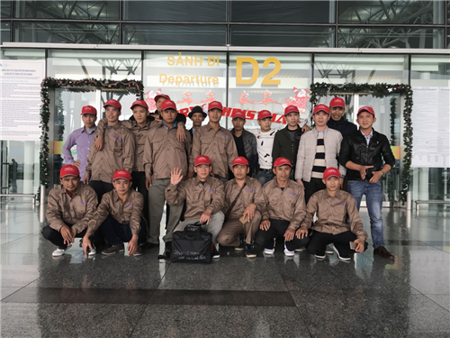 Thông báo xuất cảnh 20 thợ xây dựng Rumani công ty Bogat ngày 24.1.2018