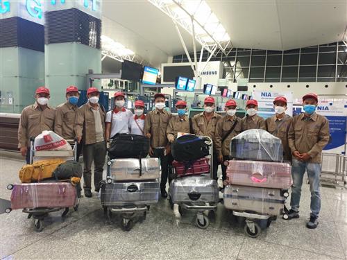 [Rumani] Xuất cảnh 12 công nhân thịt gà Bravcod đi rumani ngày 29/09/2021