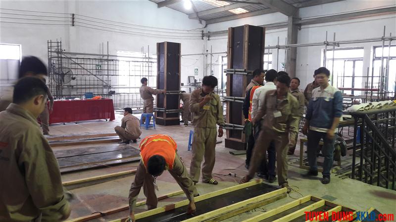 Thi tuyển Rumani ngành nghề xây dựng (11)