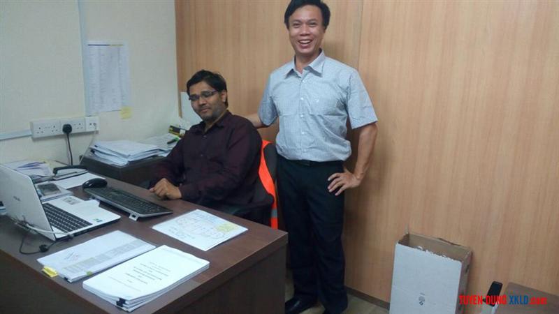 Phòng làm việc của kỹ sư Lê Hùng Khoáng