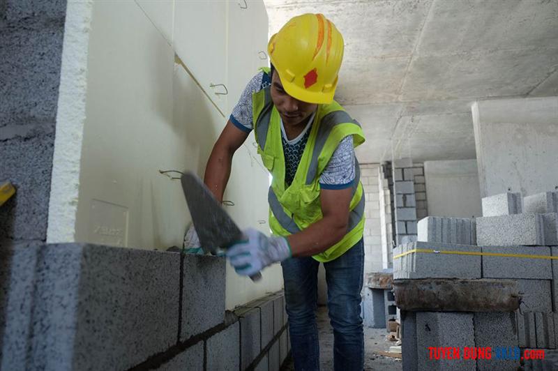 Hình ảnh thợ xây dựng