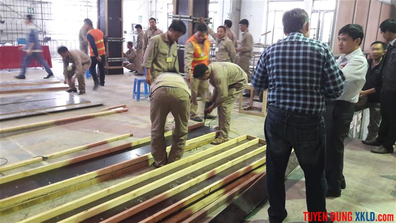 Thi tuyển lao động đi làm việc tại Kuwait