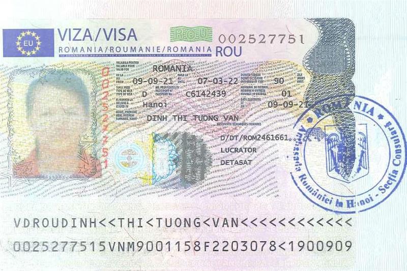 Visa 11 lao động đơn thịt gà Rumani ngày 14/9/2021