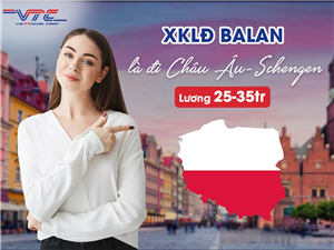 [Ba Lan] Tuyển Nam nữ Thực Phẩm lần 2 đi Ba Lan