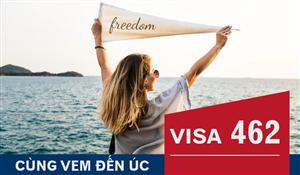 [Úc] VISA 462 lao động kết hợp với kỳ nghỉ